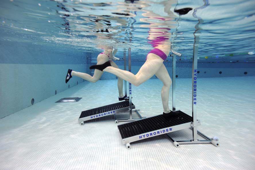L'aquarunning dans sa piscine