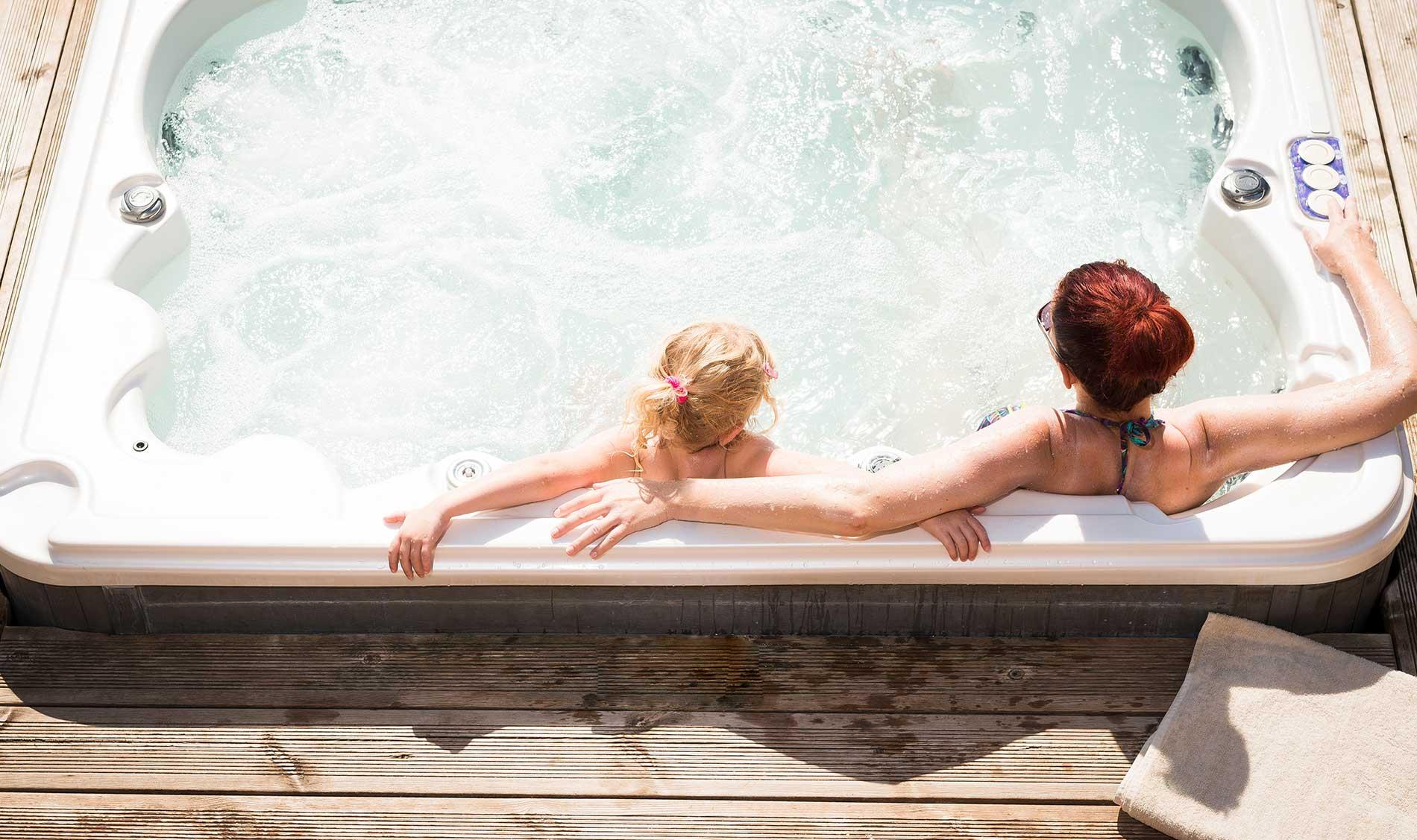 les bienfaits d'un spa